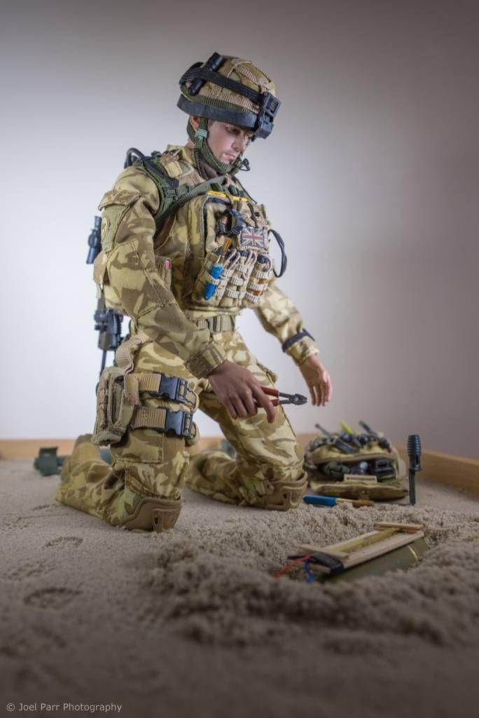 Modern War 1990s To Present British Army Ato Osw One