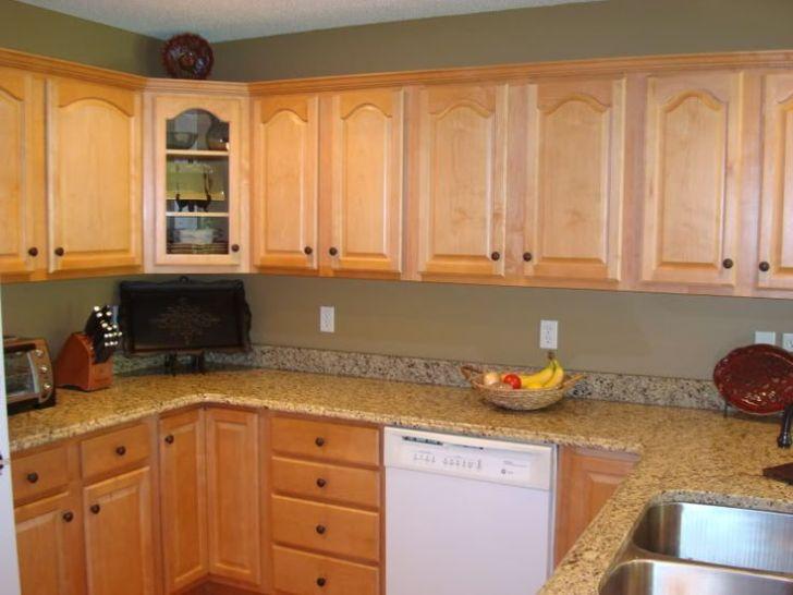 Kitchens Living Room Kitchen Walls Condo Oak Cabinets