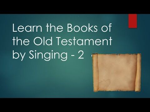 This song helps students (and teachers) learn the books of ...