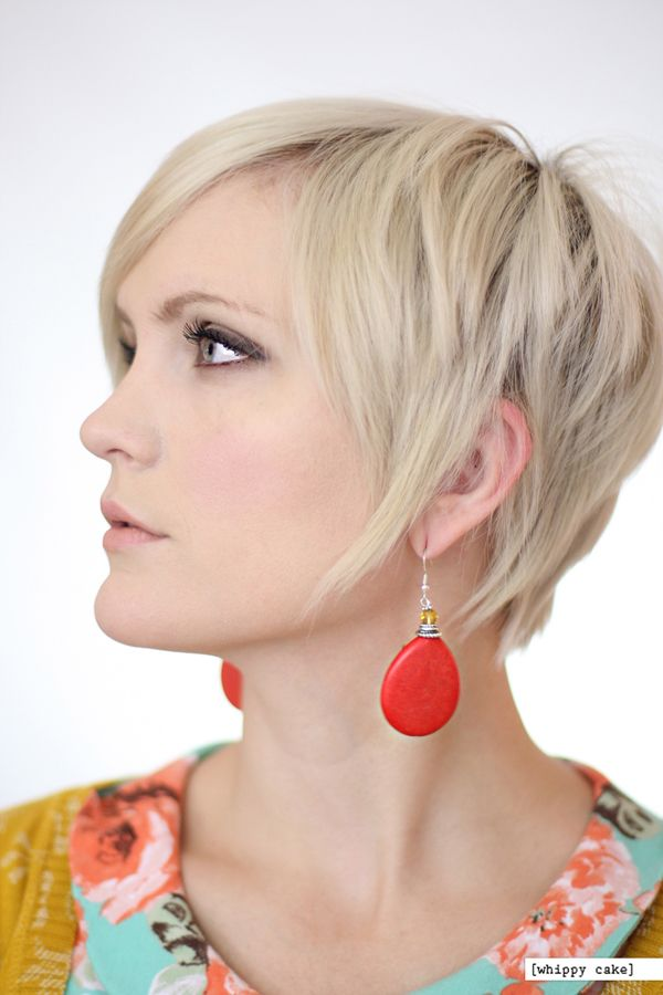 16 Red Drop Earrings From WhippyCake