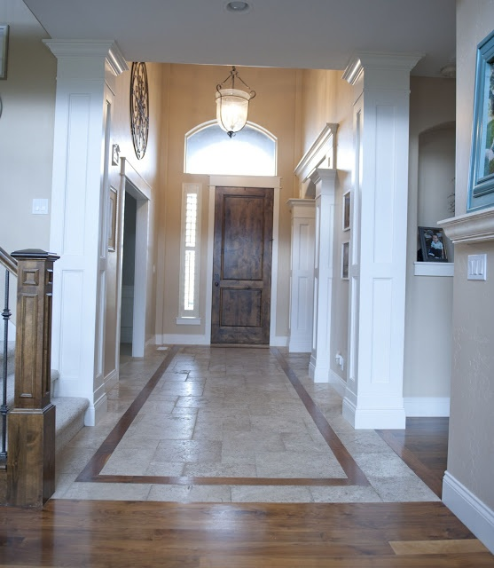 Entryway moulding For the Home Pinterest Home, Tile