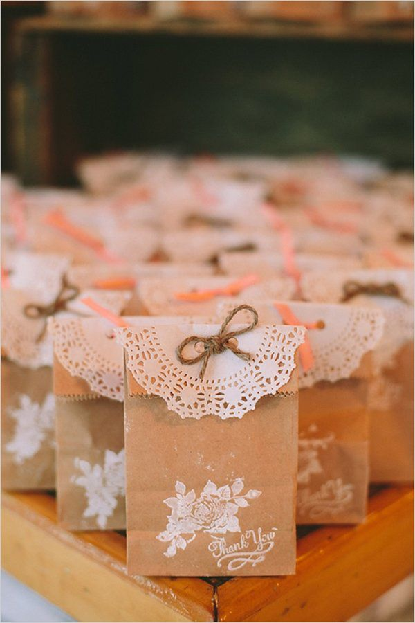 Tea Bag Favors To Make Yourself