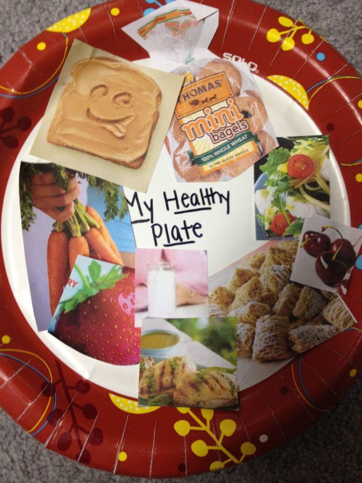healthy eating plate kindergarten Healthy Eating