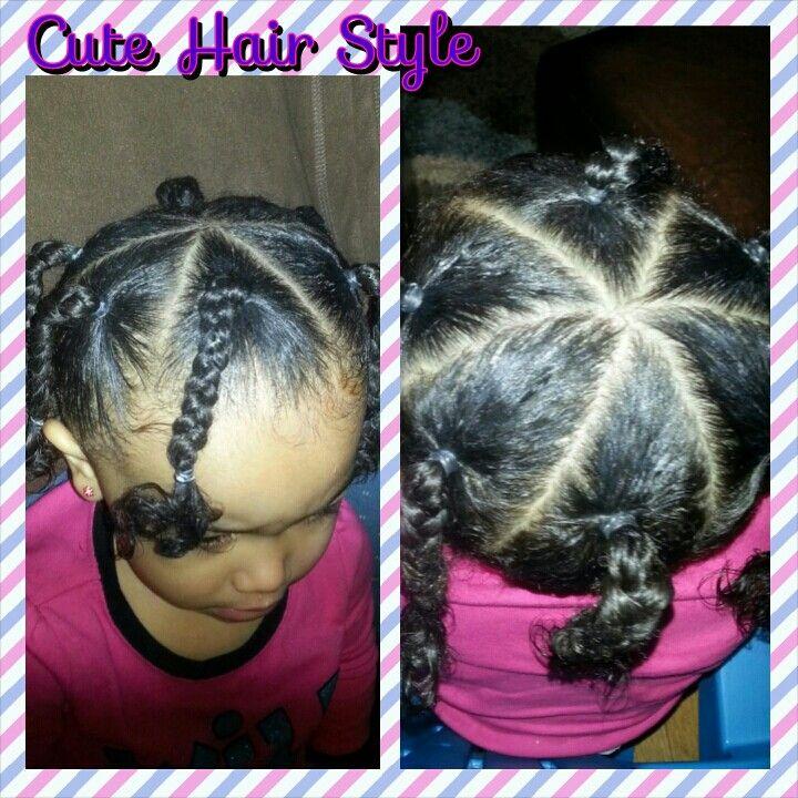Toddler Hair Styles Biracial Hair Curly Braids Avayahs