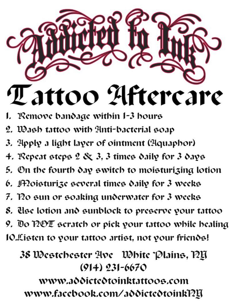 Tattoo aftercare Tattoo ideas Pinterest We, Lotion
