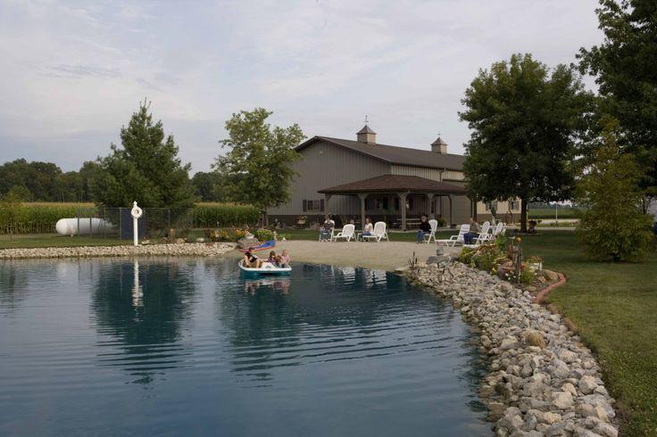 Farm Pond Structure