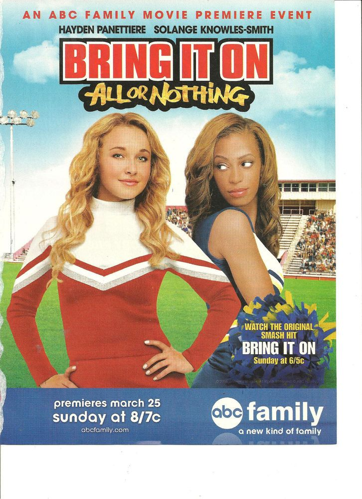 Hayden Panettiere Bring It On All Or Nothing Full Page