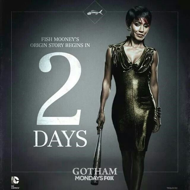 Jada Pinket As Fish Mahoney In Gotham Stars Pinterest