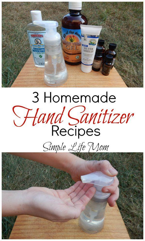 3 Homemade Hand Sanitizer Recipes ALOE Recipe