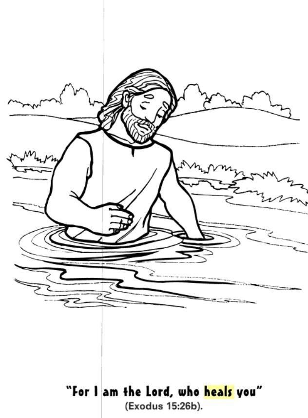 Coloring (Elisha Witnesses Elijah's Departure) - Kids Korner ... | 857x632