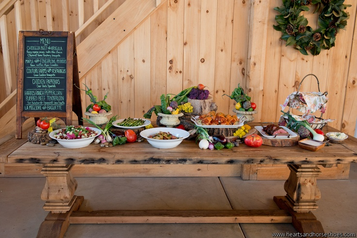 23 Best Images About LONG BUFFET TABLES On Pinterest