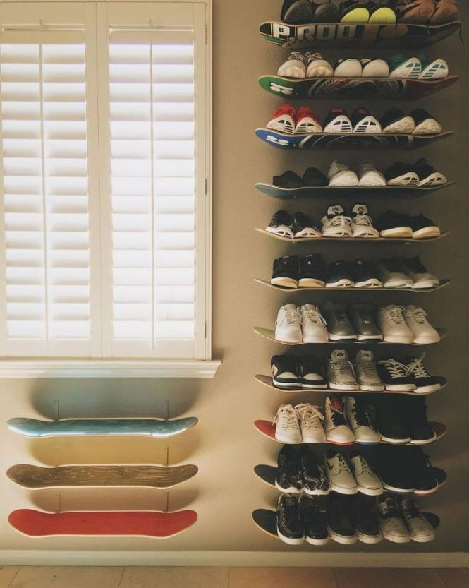 Diy Skateboard Shelfs