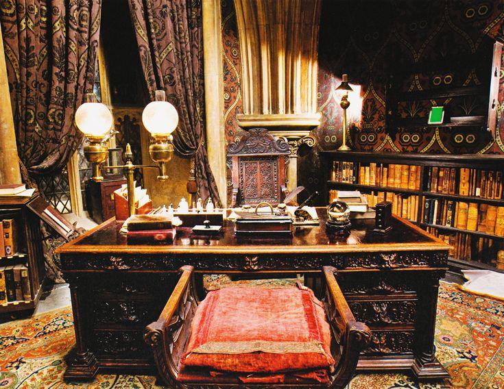 Professor Slughorns Office Half Blood Prince Harry Potter Production Design Pinterest