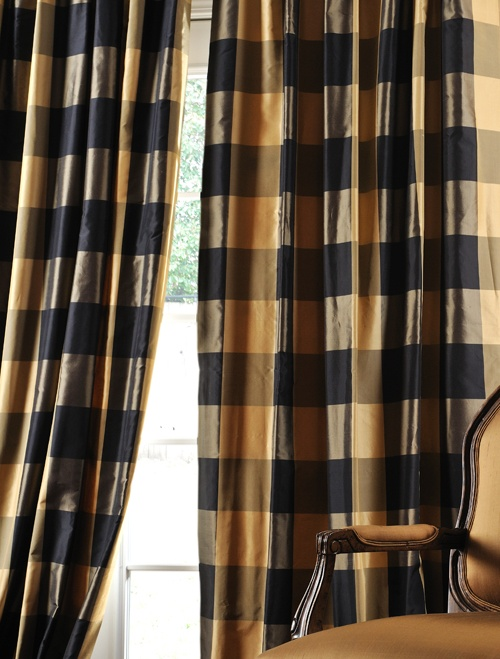 Eastwood Taffeta Silk Plaid Curtains To Do On Our House