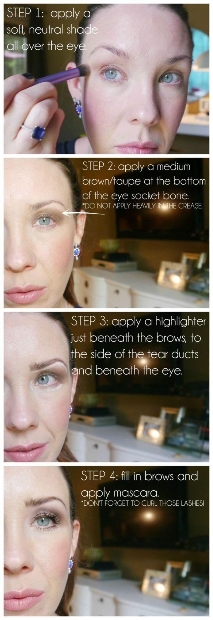 Eye Makeup Tips For Droopy Eyes Jidimakeup