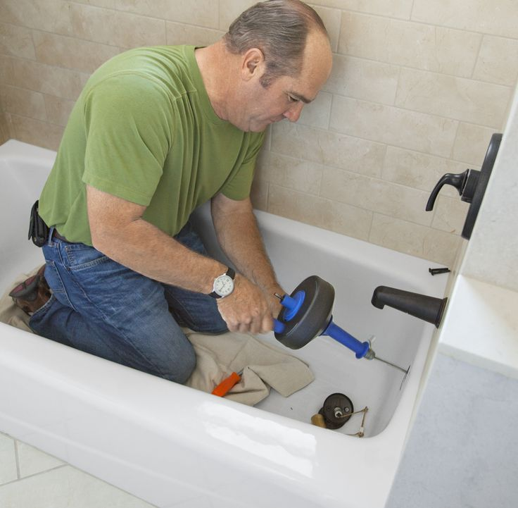 17 Best Ideas About Unclog Bathtub Drain On Pinterest