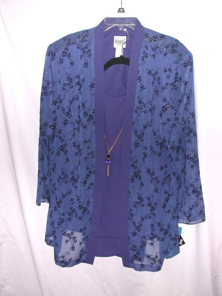 R Amp M Richards Dressy Pants Suit 24w Cruisewear Special