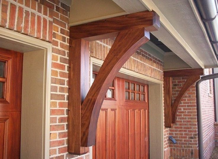 Exterior Corbels And Brackets Adding Architectural