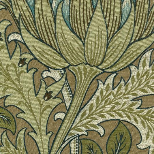 Artichoke Fabric By William Morris Pimpernel Collection