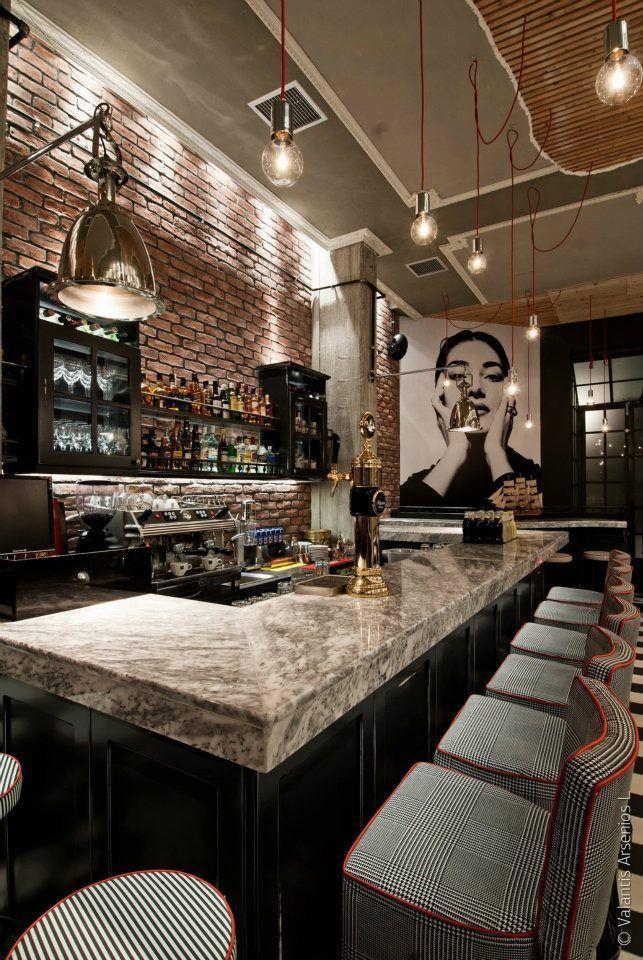 » Coffee shop interior Briki in Veroia, Greece Dimitris