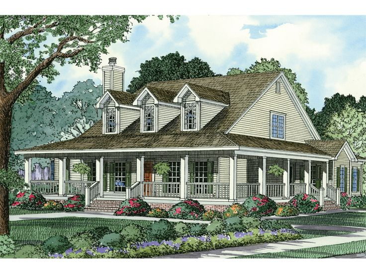 Casalone Ridge Ranch Home House plans, Style and Wraps