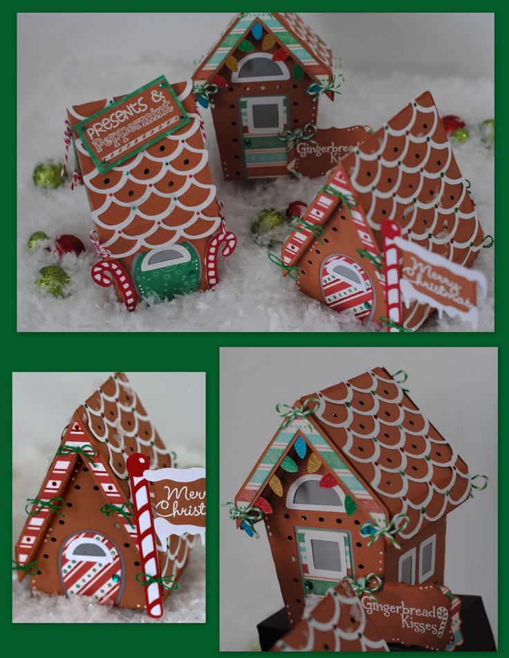 Cheryl's Gingerbread Houses are so colorful! Our