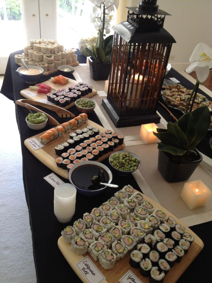 Sushi Decoration Ideas