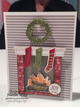 Stampin Up Fireplaces And Stamp Sets On Pinterest