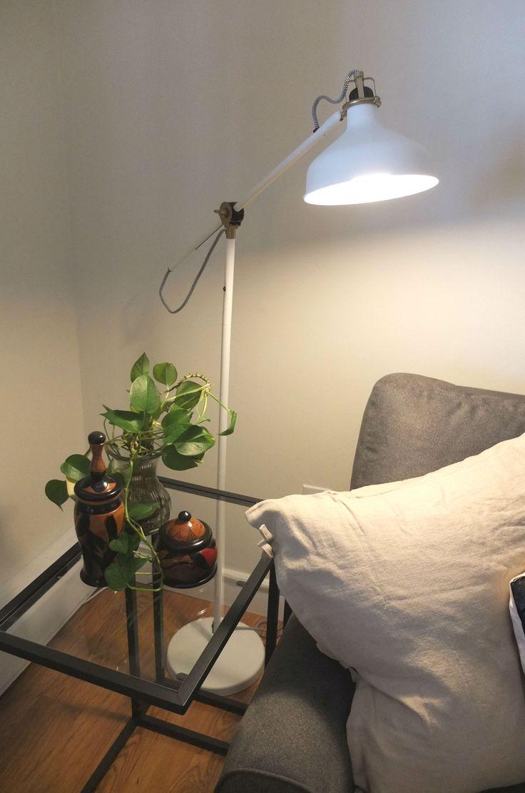 Ranarp Floor Reading Lamp Off White The O Jays Floors
