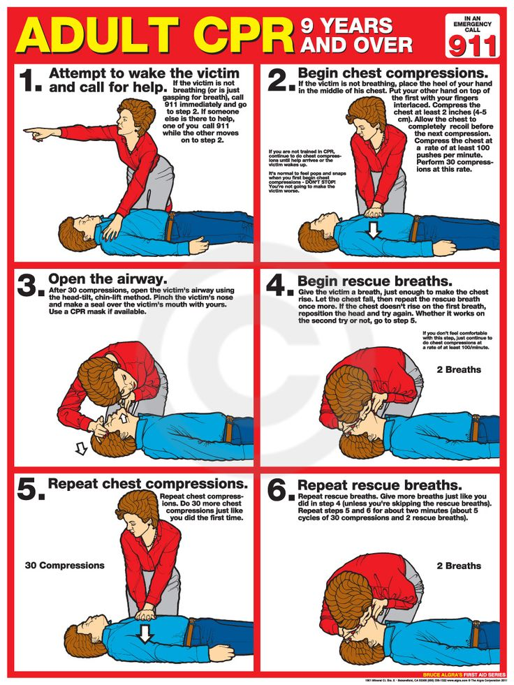 Adult CPR Poster USA Labor Law Posters CPR Pinterest