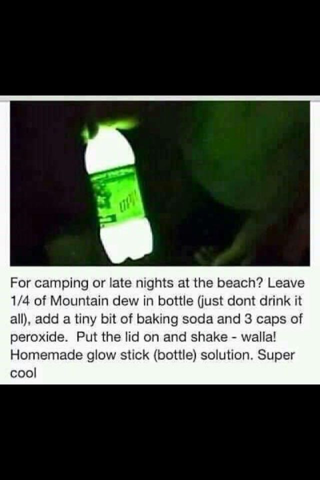 Mt Dew And Baking Soda And Peroxide
