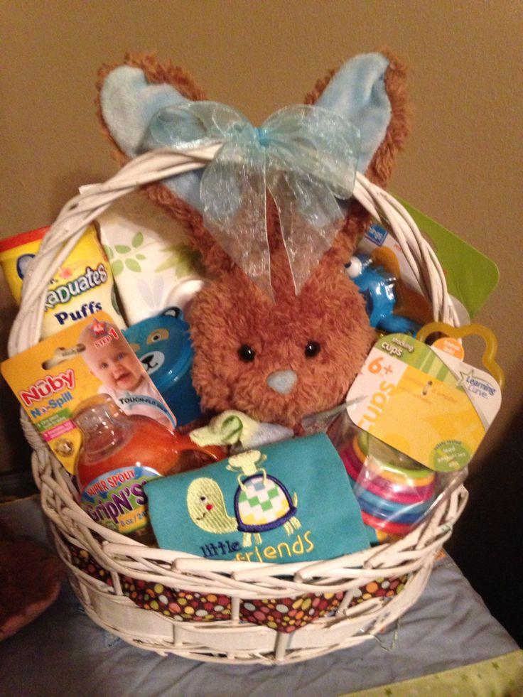 "Infant boy easter basket CREATIONS BY ""E"" Pinterest"