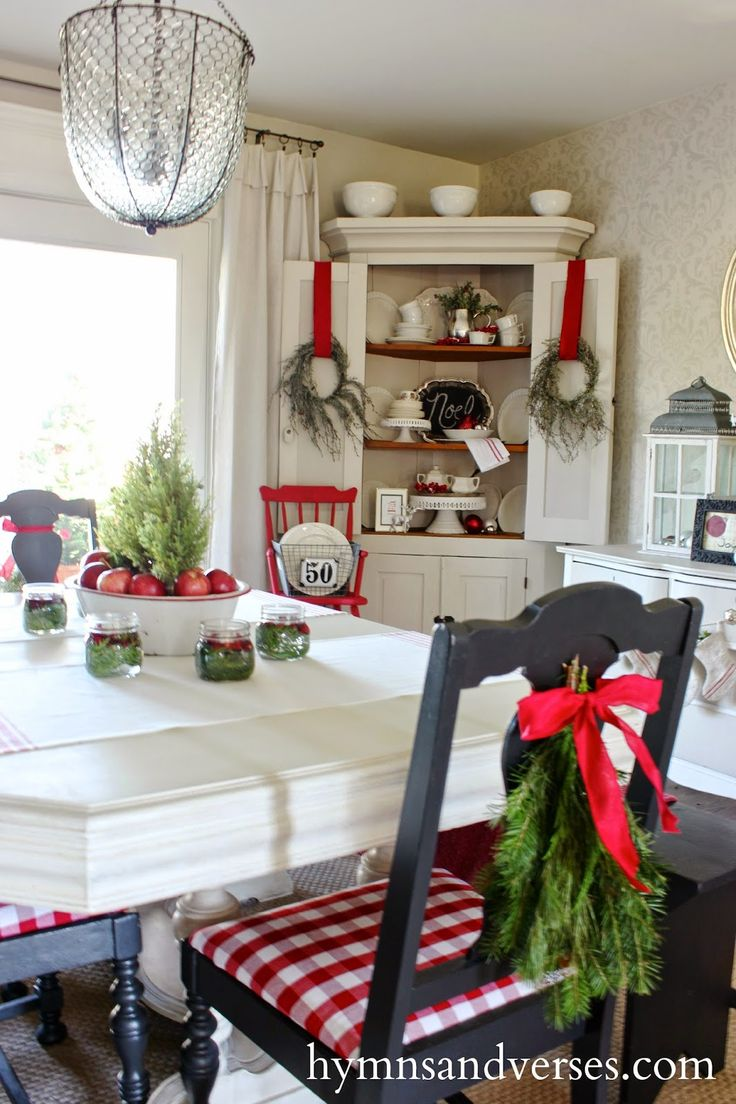 """Hymns and Verses 2014 Christmas Home Tour """"DIY Projects"""
