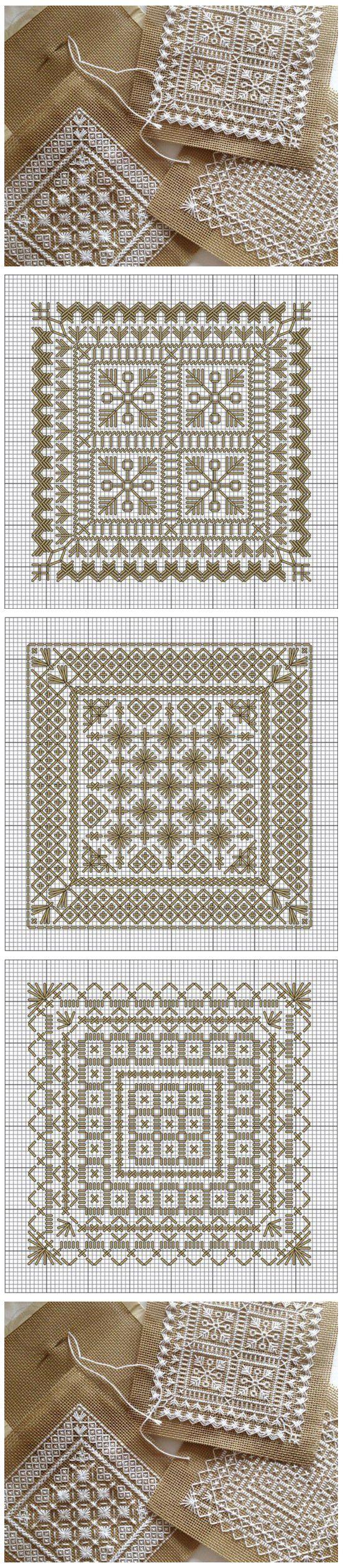 Embroidery patterns / Схемы для изящной вышивки