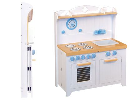 Childrens Fold Away Wooden Play Kitchen Christmas Ideas