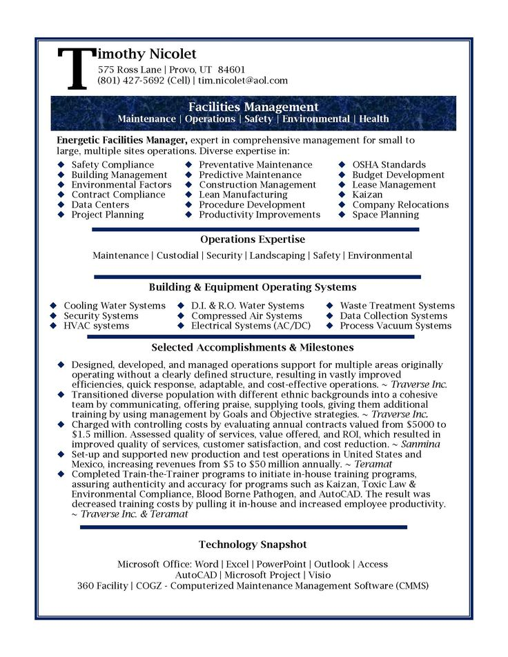 1000 ideas about executive resume template on pinterest resume