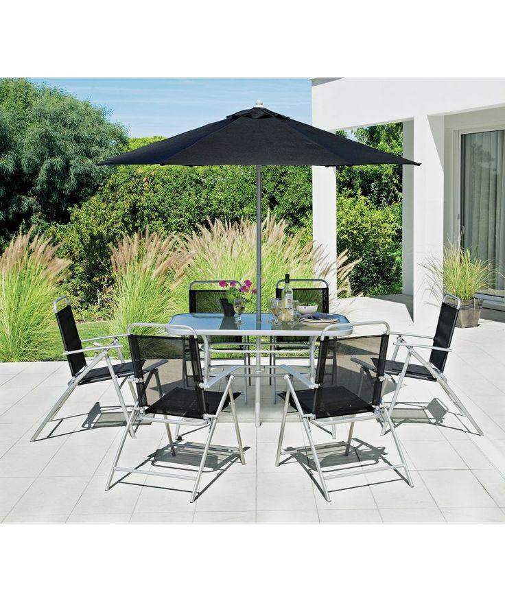 Buy Pacific 6 Seater Patio Furniture Set at Argos.co.uk