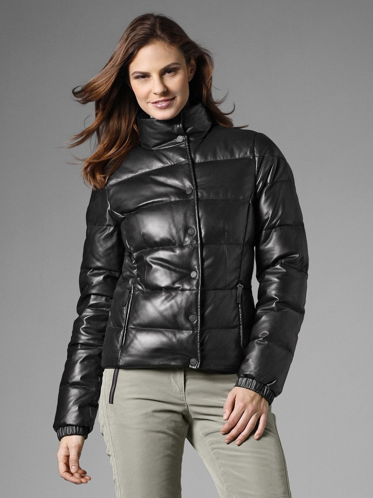 Leather Jacket Noemie Women's Ski Jackets Bogner Fire