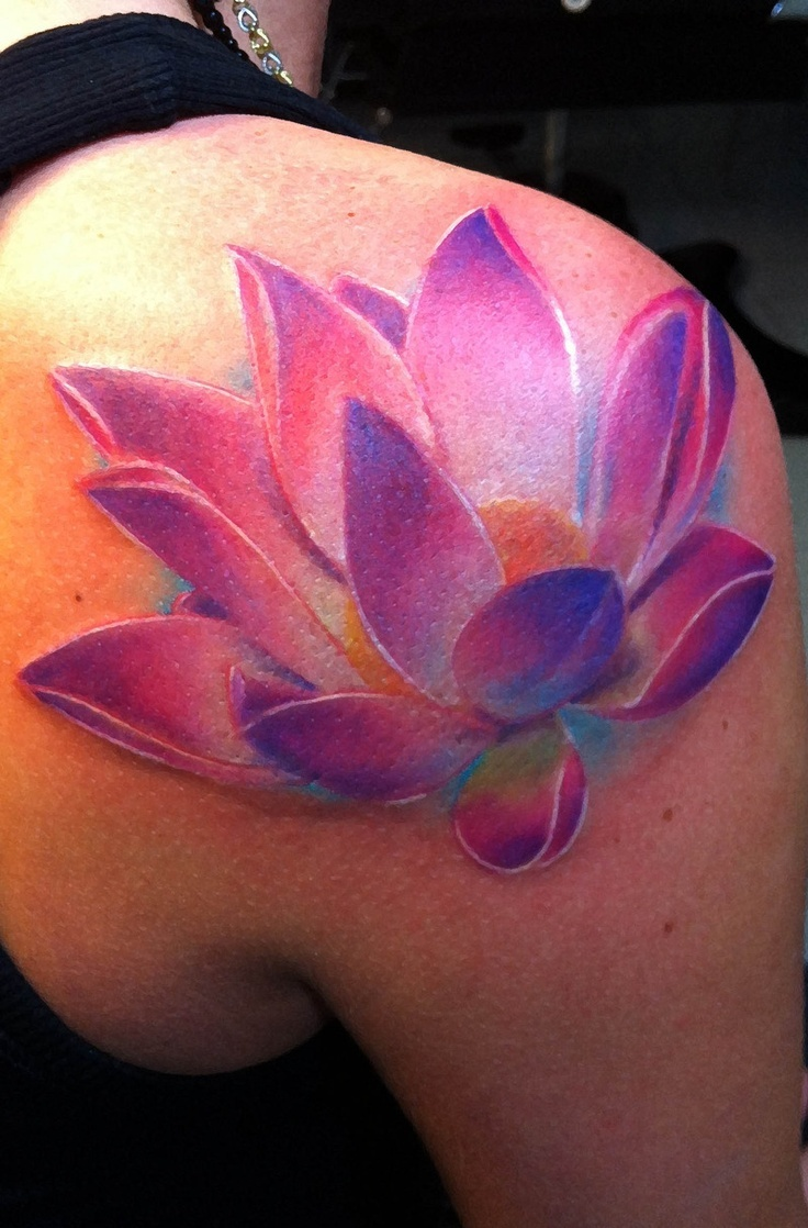 The Lotus Flower Tattoo; Asian Styles, Meanings and