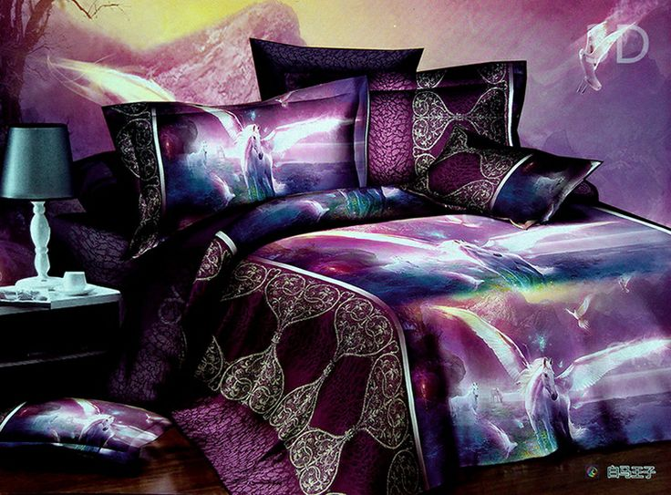 Pegasus Duvet Cover Set 3D Bedding 3D Bedding