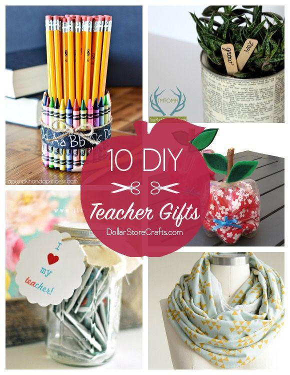 10 Cute DIY Teacher Gifts Budget Friendly Cute Crafts