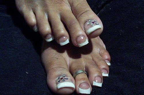 Acrylic Nails Toes These Are SOOO Disturbing I Just Had