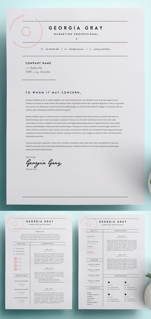 resume template download on pinterest resume templates resume and