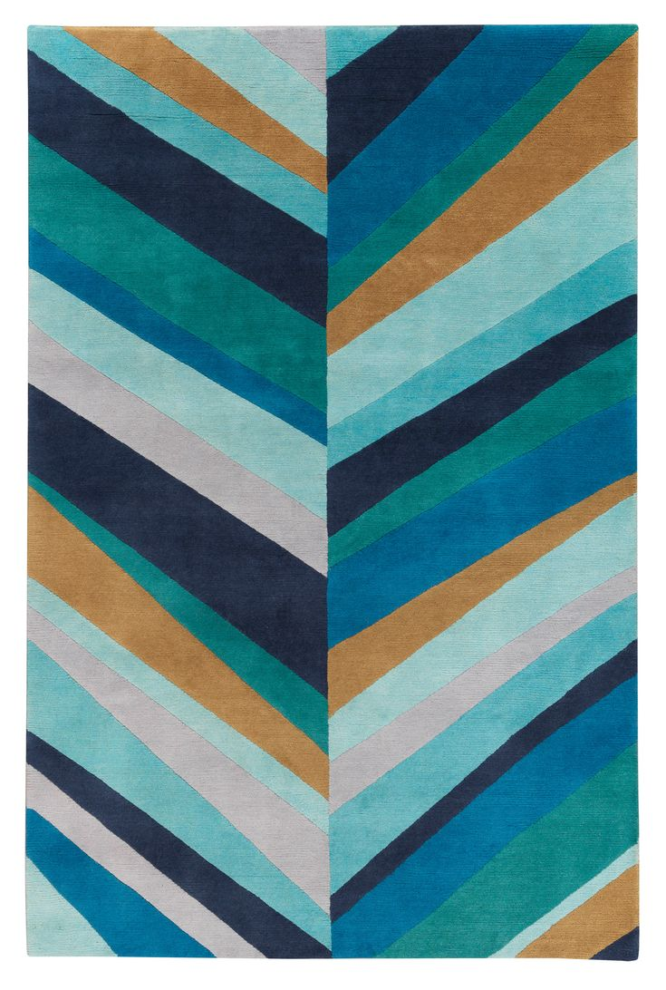 Sybil Lines Blue By Jonathan Adler For The Rug Company R
