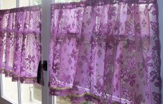 20+ Deluxe Custom Purple Kitchen Curtains That Can Improve Your Home