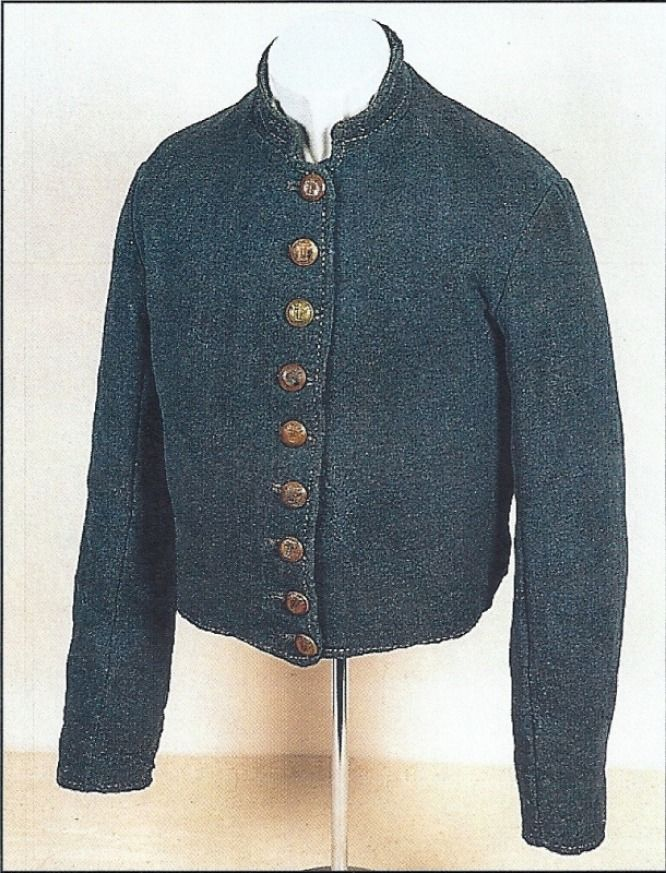 Richmond Depot Type 3, cadet gray jacket of Private John