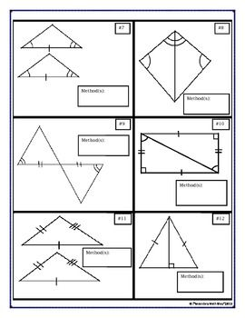 Triangles Vocabulary And Worksheets
