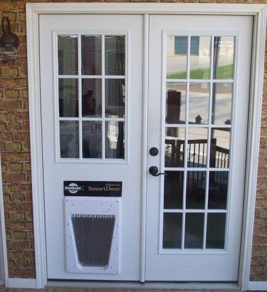 Image Result For Patio Screen Door With Dog Door Built In
