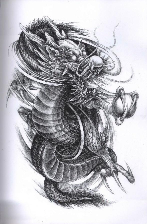 Dragon Tattoo Design dragon tattoos tattoo wzory