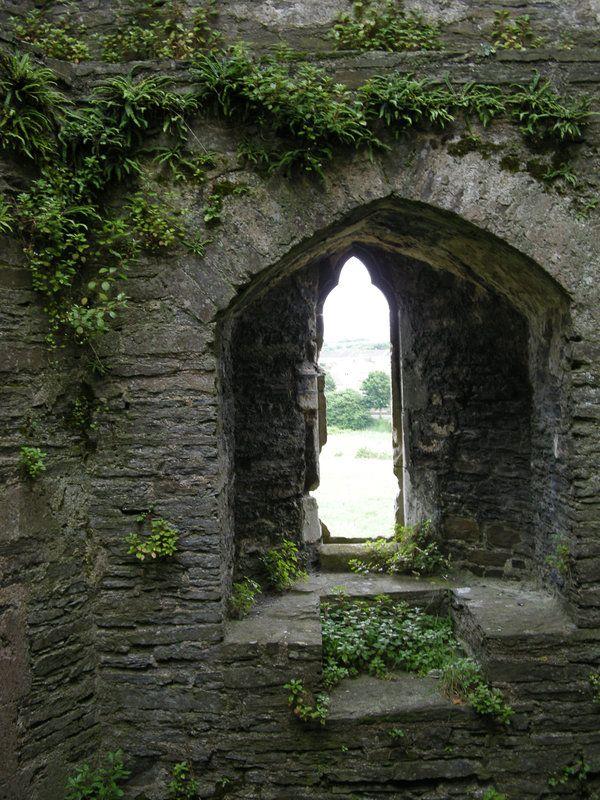 castle turret window seat Abandoned Beauty Pinterest